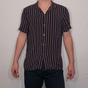Zara Men's Relaxed Fit Button Down